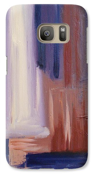 Galaxy Case featuring the painting Abstract I by Donna Tuten