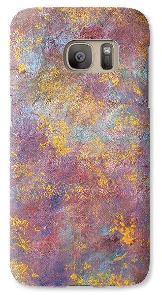 Galaxy Case featuring the painting Abstract Impressions by Donna Dixon
