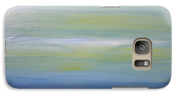 Galaxy Case featuring the painting Abstract Landscape  by Susan  Dimitrakopoulos