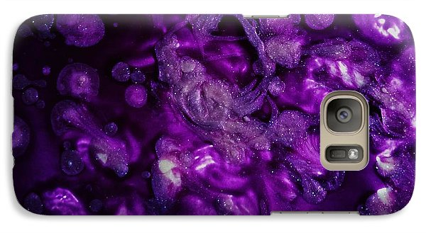 Galaxy Case featuring the painting Abstract Nail Polish Jg11 by Jasna Gopic