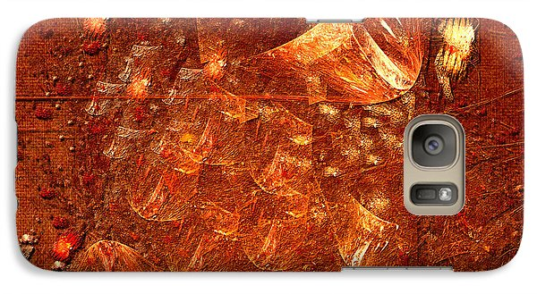 Galaxy Case featuring the digital art Abstract Power by Alexa Szlavics