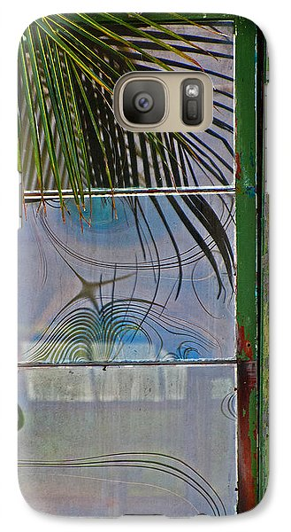 Galaxy Case featuring the photograph Abstract Reflection by Jani Freimann