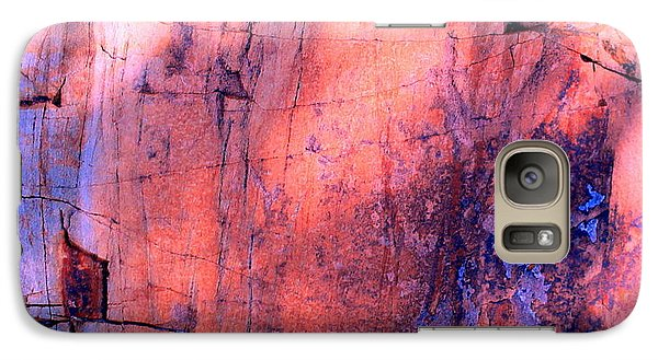 Galaxy Case featuring the photograph Abstract Rock 3 by M Diane Bonaparte