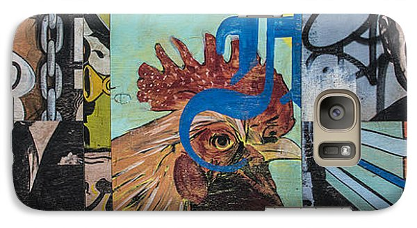 Abstract Rooster Panel Galaxy S7 Case