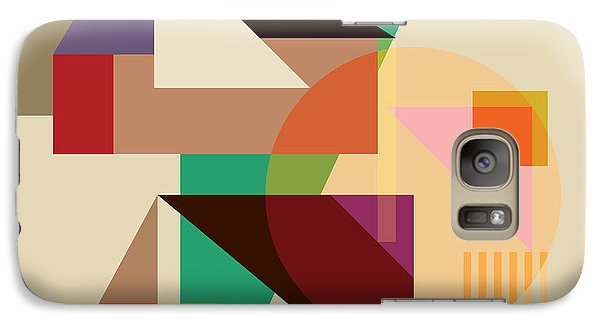Abstract Shapes #4 Galaxy S7 Case by Gary Grayson