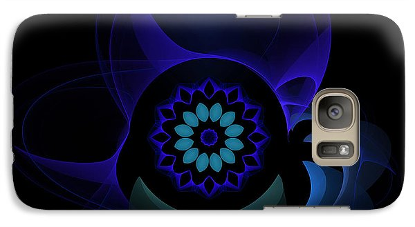 Galaxy Case featuring the digital art Abstract Surprise by Hanza Turgul