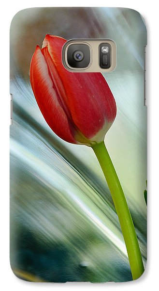 Abstract Tulip Under Glass Galaxy S7 Case