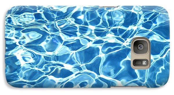 Abstract Water Galaxy Case by Tony Cordoza