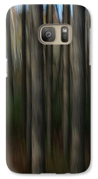 Galaxy Case featuring the photograph Abstract Woods by Randy Pollard