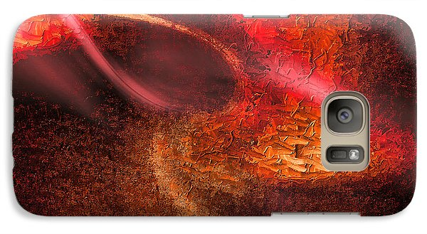 Galaxy Case featuring the painting Abstract Xxiv by Tyler Robbins