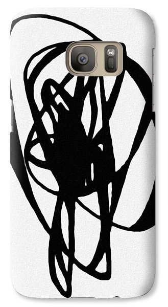 Galaxy Case featuring the painting Astratto - Abstract 19 by Ze  Di