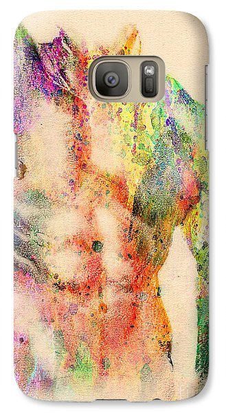 Nudes Galaxy S7 Case - Abstractiv Body  by Mark Ashkenazi