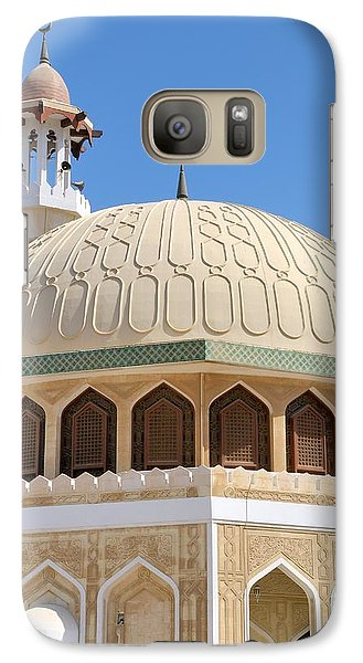 Galaxy Case featuring the photograph Abu Dhabi Mosque by Steven Richman
