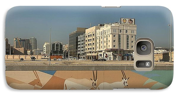 Galaxy Case featuring the photograph Abu Dhabi Outskirts by Steven Richman