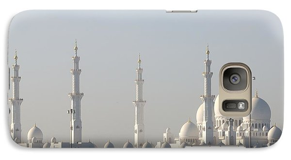 Galaxy Case featuring the photograph Abu Dhabi Sheikh Zayed Grand Mosque by Steven Richman