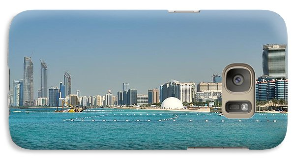 Galaxy Case featuring the photograph Abu Dhabi Skyline by Steven Richman