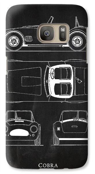 Ac Cobra Galaxy S7 Case by Mark Rogan