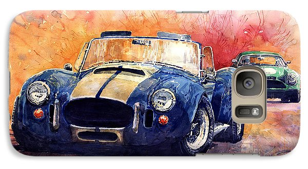 Transportation Galaxy S7 Case - Ac Cobra Shelby 427 by Yuriy Shevchuk
