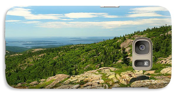 Galaxy Case featuring the photograph Acadia Maine by Raymond Earley