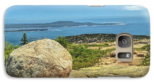 Galaxy Case featuring the photograph Acadia Park by Raymond Earley