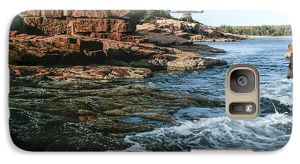 Galaxy Case featuring the photograph Acadian Coast by Doug McPherson