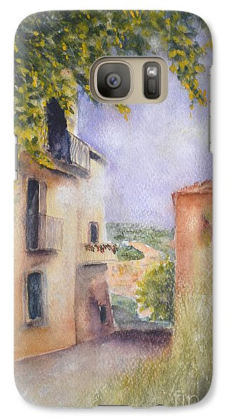 Galaxy Case featuring the painting Accadia by Kathleen Pio