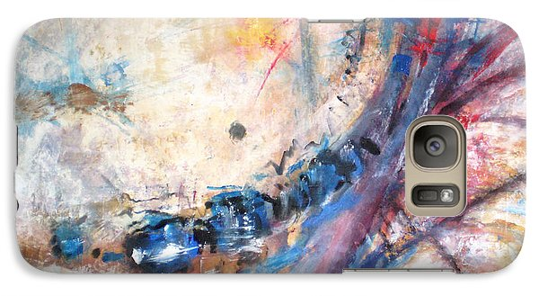 Galaxy Case featuring the painting Accident by John Fish