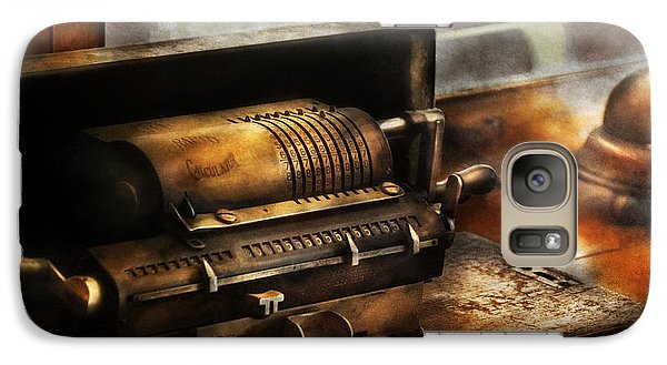 Accountant - The Adding Machine Galaxy S7 Case