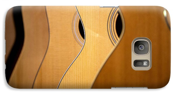 Galaxy Case featuring the photograph Acoustic Design by John Rivera