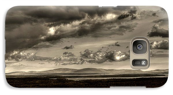 Galaxy Case featuring the photograph Across The Divide by Greg DeBeck
