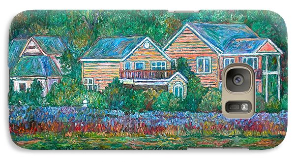 Galaxy Case featuring the painting Across The Marsh At Pawleys Island       by Kendall Kessler