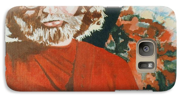 Galaxy Case featuring the painting Acrylic Jerry by Stuart Engel