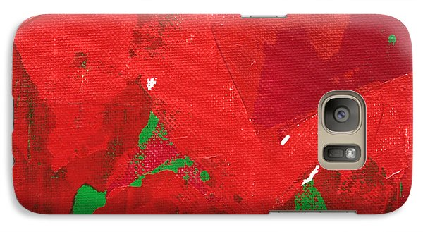 Galaxy Case featuring the painting Active 2013 by Paul Ashby