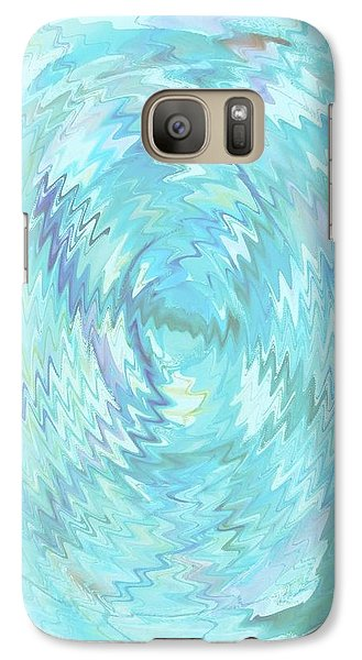Galaxy Case featuring the digital art Active Head Space by Phoenix De Vries