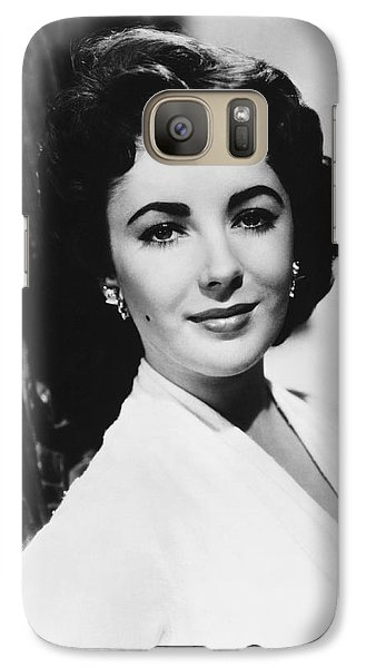 Actress Elizabeth Taylor Galaxy S7 Case