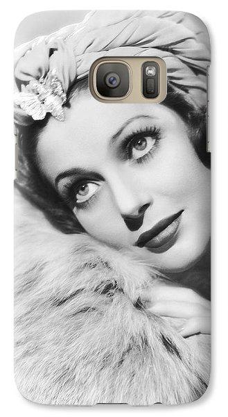 Actress Loretta Young Galaxy S7 Case