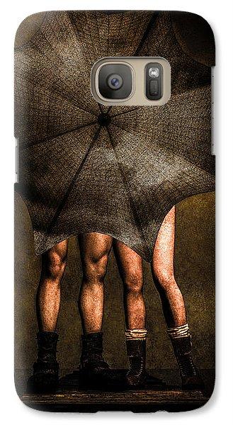 Adam And Eve Galaxy S7 Case by Bob Orsillo