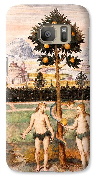 Galaxy Case featuring the photograph Adam And Eve by David Grant