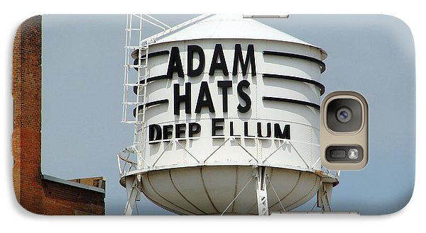 Galaxy Case featuring the photograph Adam Hats In Deep Ellum by Charlie and Norma Brock