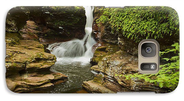 Galaxy Case featuring the photograph Adams Falls by Tom Kelly