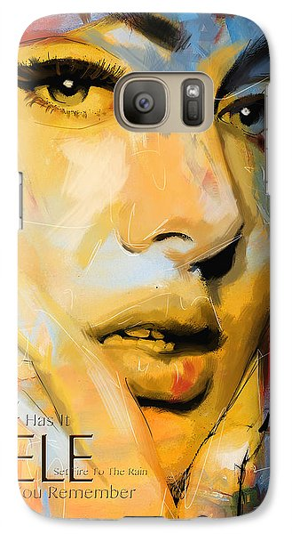 Adele Galaxy S7 Case by Corporate Art Task Force