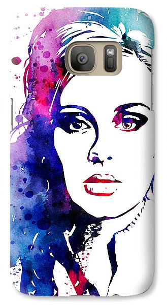 Adele Galaxy S7 Case by Watercolor Girl