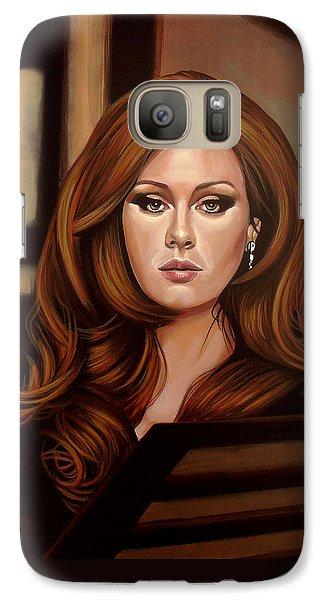 Rhythm And Blues Galaxy S7 Case - Adele by Paul Meijering