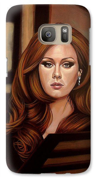Rhythm And Blues Galaxy S7 Case - Adele by Paul Meijering