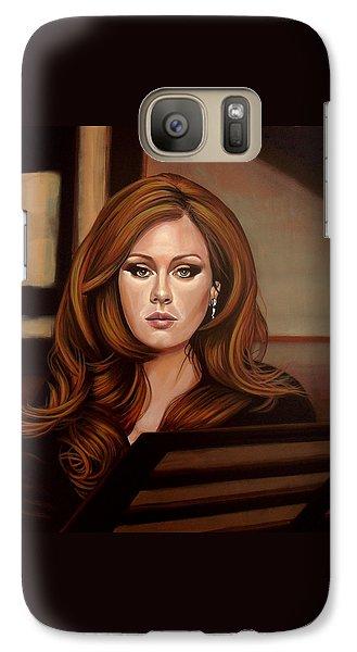 Adele Galaxy S7 Case by Paul Meijering