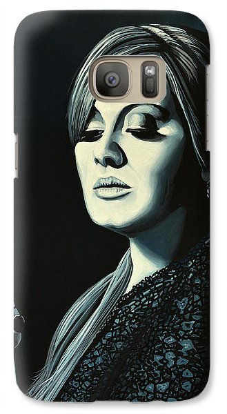 Music Galaxy S7 Case - Adele 2 by Paul Meijering