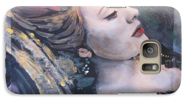 Galaxy Case featuring the painting Adele Skyfall by Vikram Singh