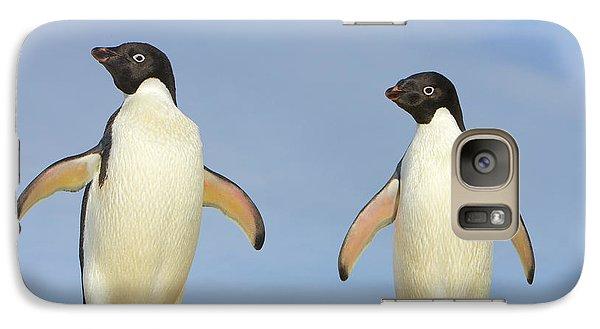 Adelie Penguin Duo Galaxy S7 Case