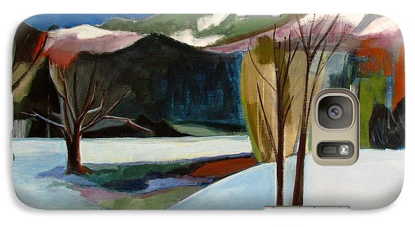 Galaxy Case featuring the painting Adirondacks by Betty Pieper
