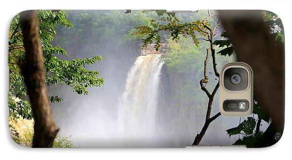 Galaxy Case featuring the photograph Adirondacks Waterfall by Patti Whitten